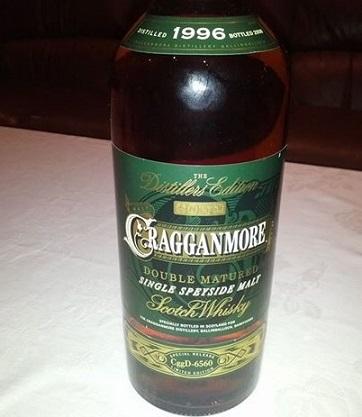 Cragganmore Distillers Edition 1996/2008 12 YO
