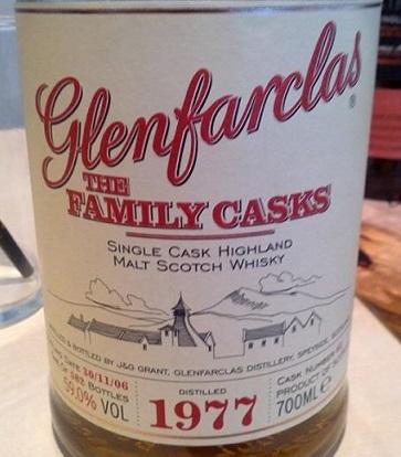Glenfarclas The Family Casks 1977 29 YO