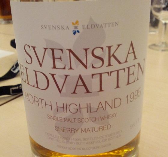 North Highland 1995 18 YO Svenska Eldvatten