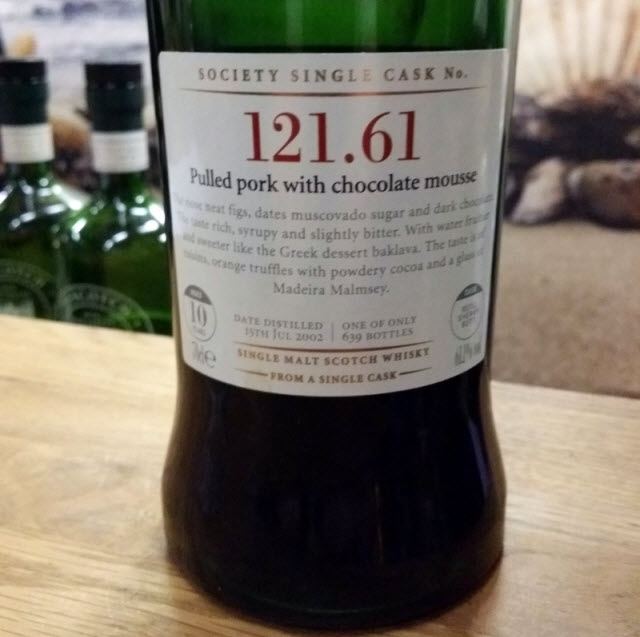 SMWS 121.61 Pulled pork with chocolate mousse - image 1