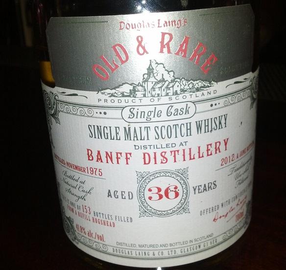 Banff 1975 36 YO Douglas Laing Old & Rare Platinum Selection