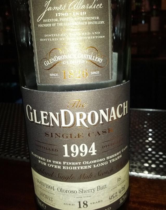 GlenDronach 1994 18 YO Single Cask