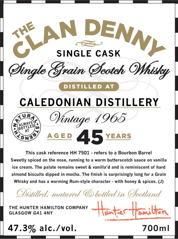 Caledonian 1965 45 YO Clan Denny - image 2