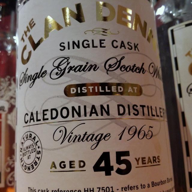 Caledonian 1965 45 YO Clan Denny