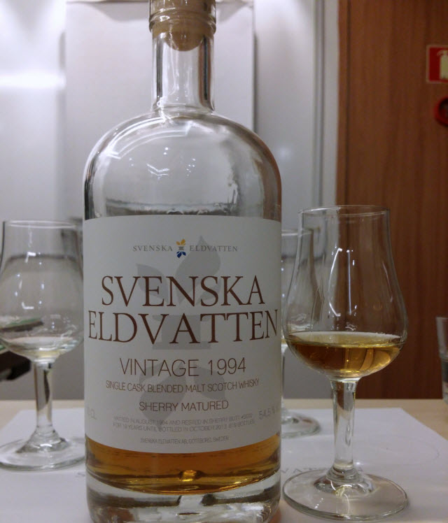 Svenska Eldvatten Vintage 1994 Sherry Matured