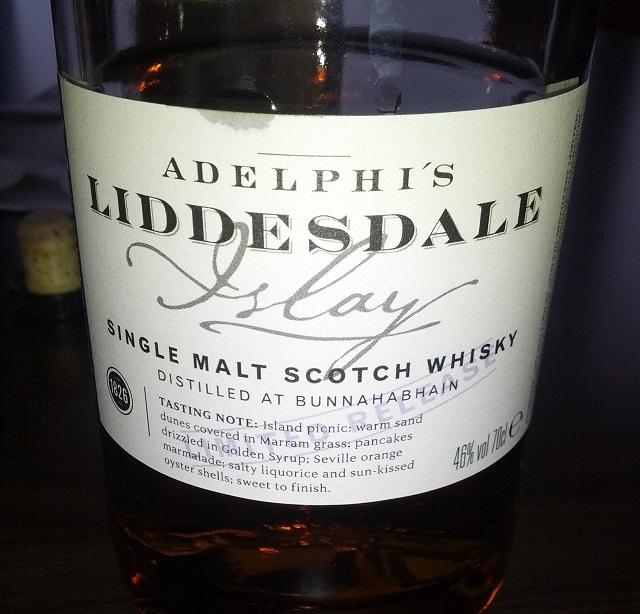 Liddesdale 21 YO Batch 6 (Bunnahabhain)