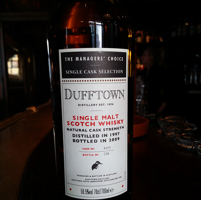 Dufftown 1997 The Managers' Choice