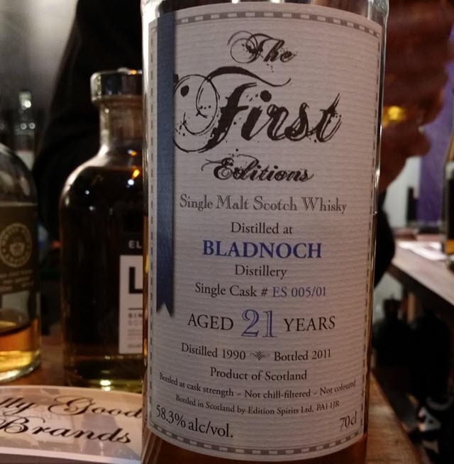 Bladnoch 1990 21 YO The First Editions