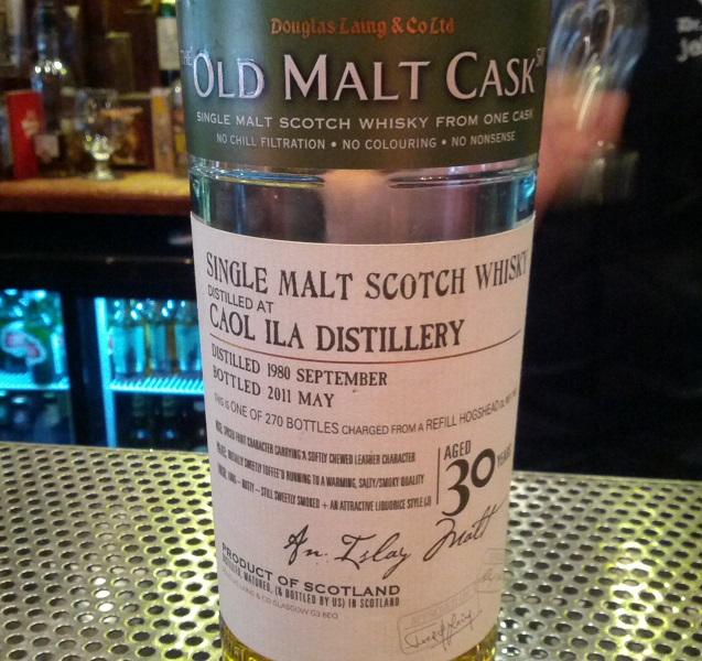 Caol Ila 1980 30 YO Douglas Laing Old Malt Cask
