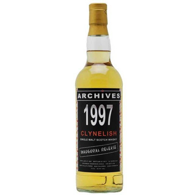 Clynelish 1997 14 YO Archives Inaugural Release