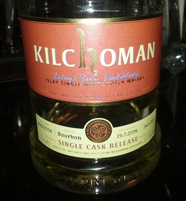 Kilchoman 5 YO 2006 Bourbon Single Cask