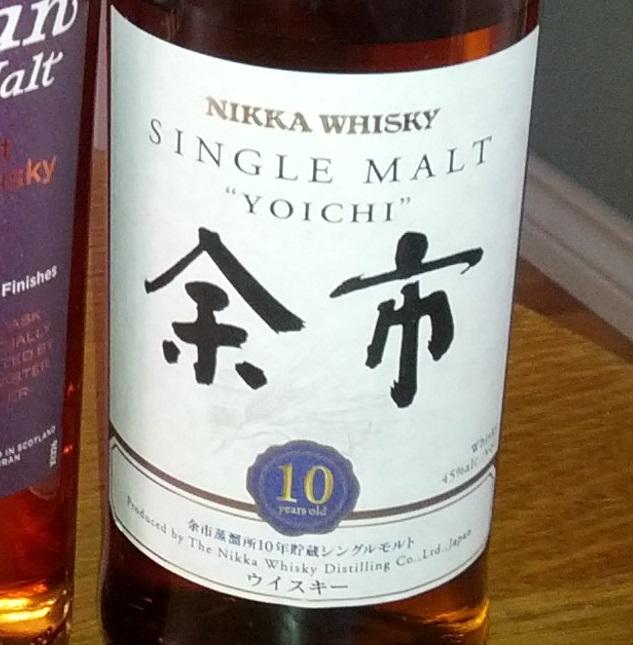 Nikka Yoichi 10 YO
