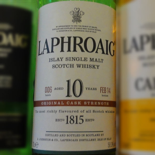 Laphroaig 10 YO Cask Strength Batch 006