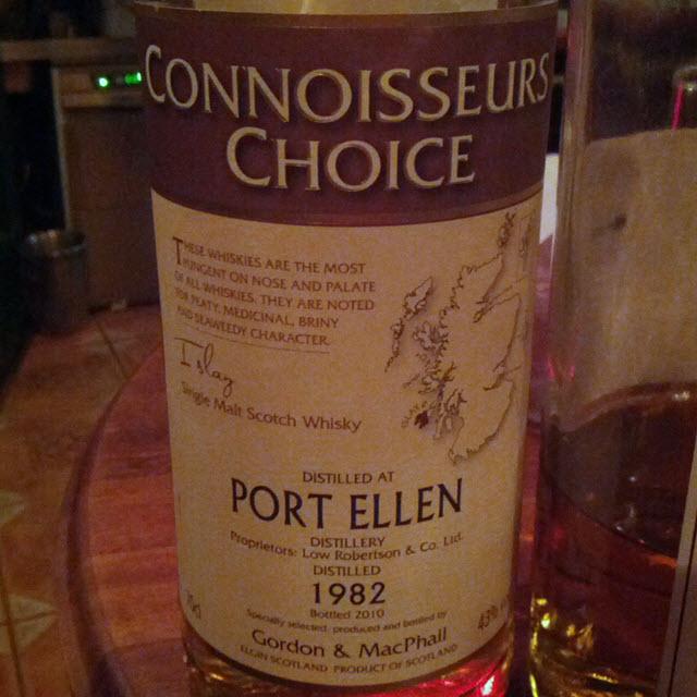 Port Ellen 1982 28 YO Connoisseurs Choice
