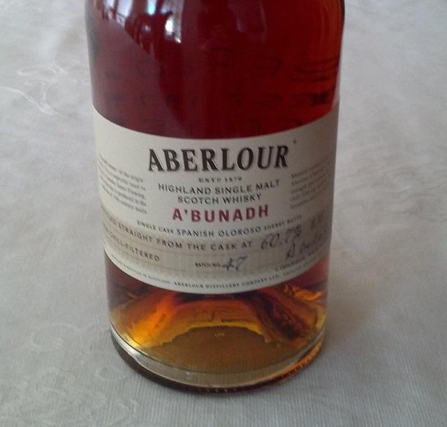 Aberlour A'bunadh batch #47