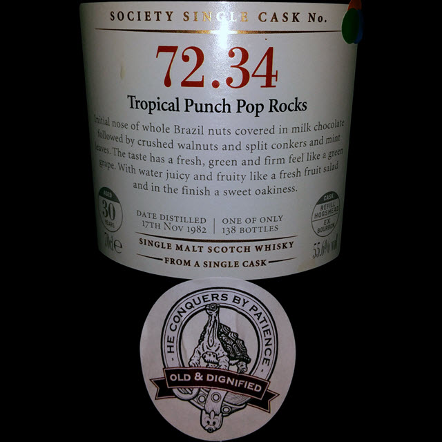 SMWS 72.34 Tropical Punch Pop Rocks
