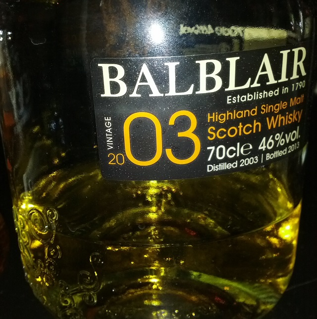 Balblair 2003 10 YO