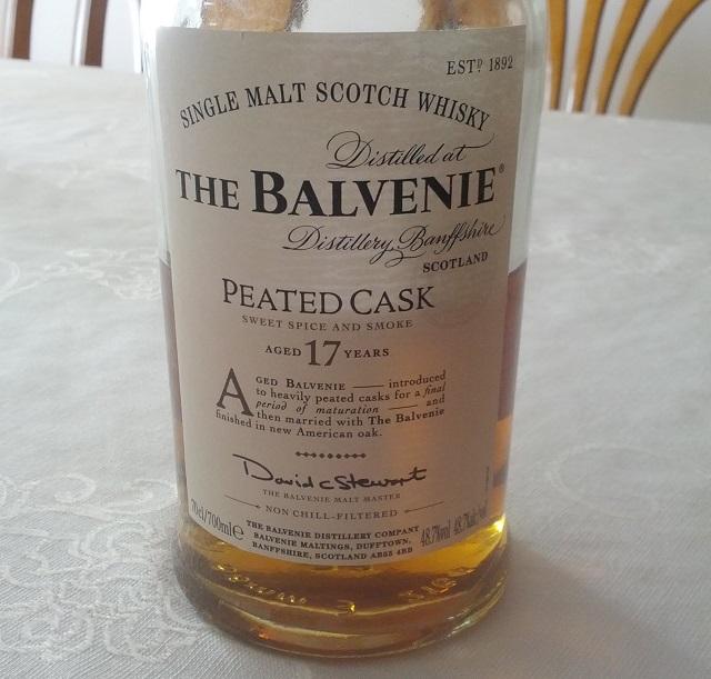 Balvenie Peated Cask 17 YO