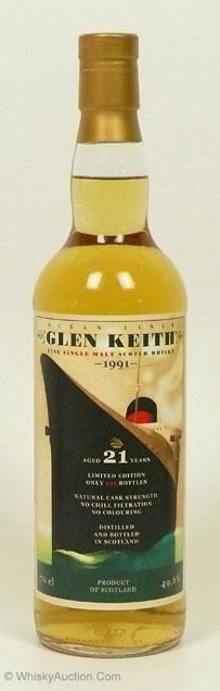 Glen Keith 1991 21 YO Jack Wiebers Whisky World