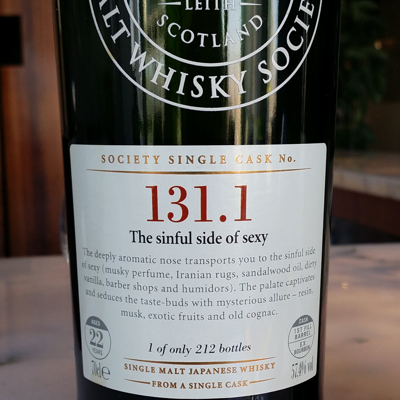 SMWS 131.1 The sinful side of sexy