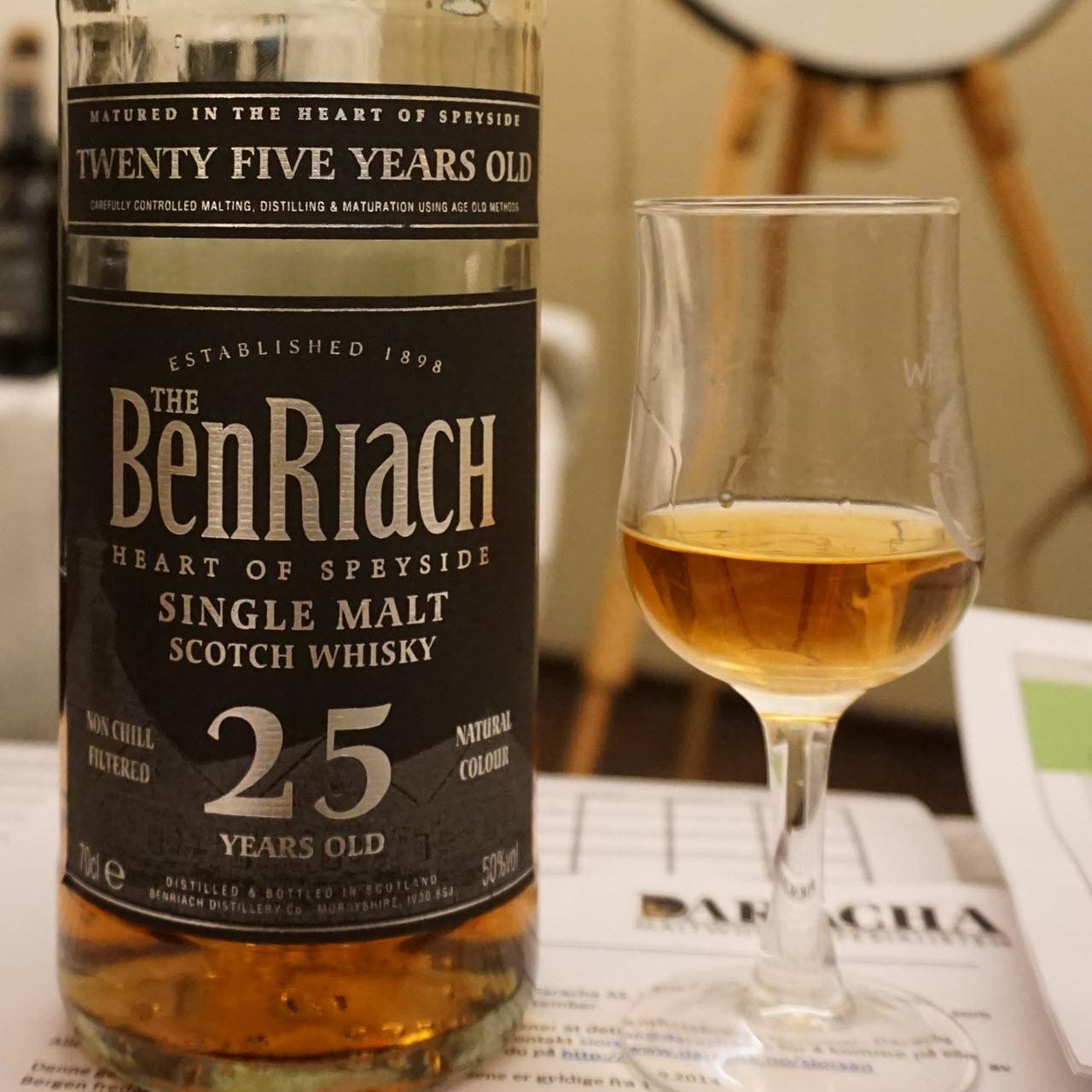 BenRiach 25 YO