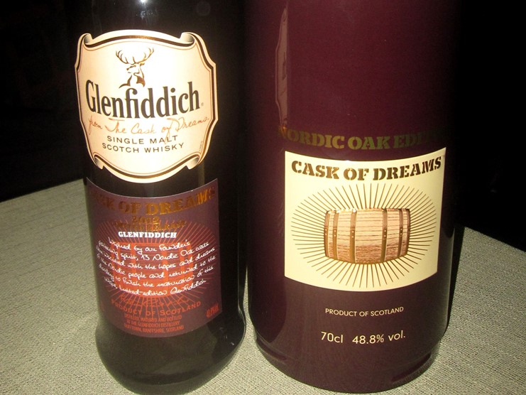 Glenfiddich Cask of Dreams 2012 Limited Release - Nordic Oak Edition