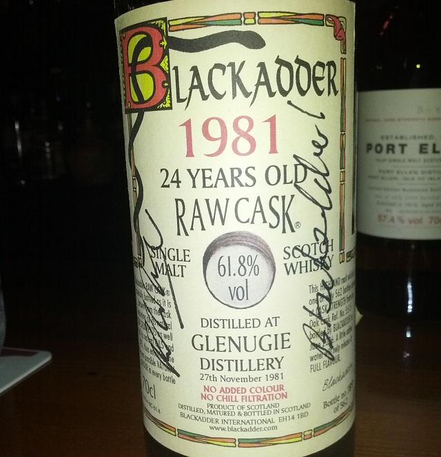 Glenugie 1981 24 YO Blackadder