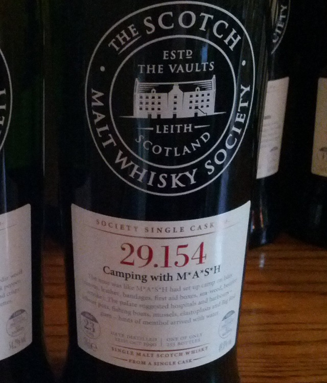 SMWS 29.154 Camping with M*A*S*H