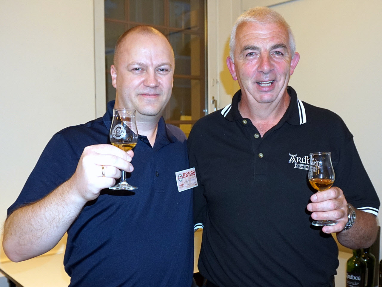 Stockholm Beer and Whisky Festival 2014 - mickey heads