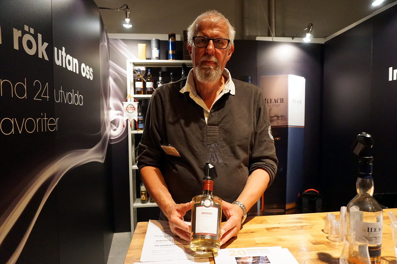 Stockholm Beer and Whisky Festival 2014 - peated whisky