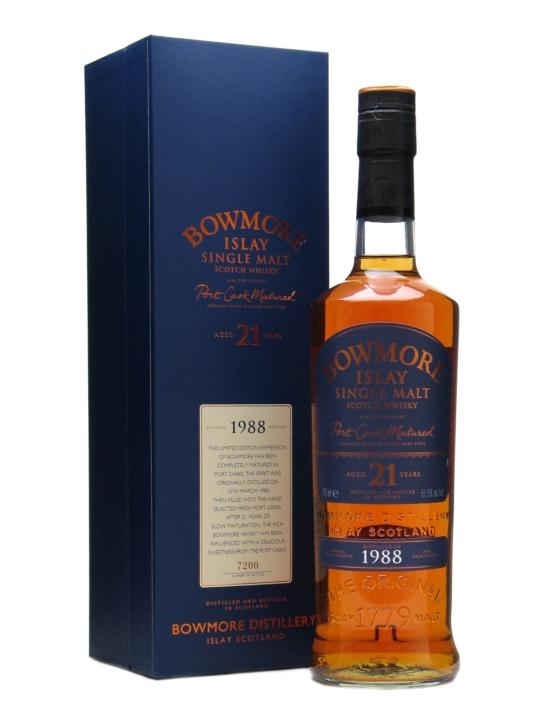 Bowmore 1988 21 YO Port Cask