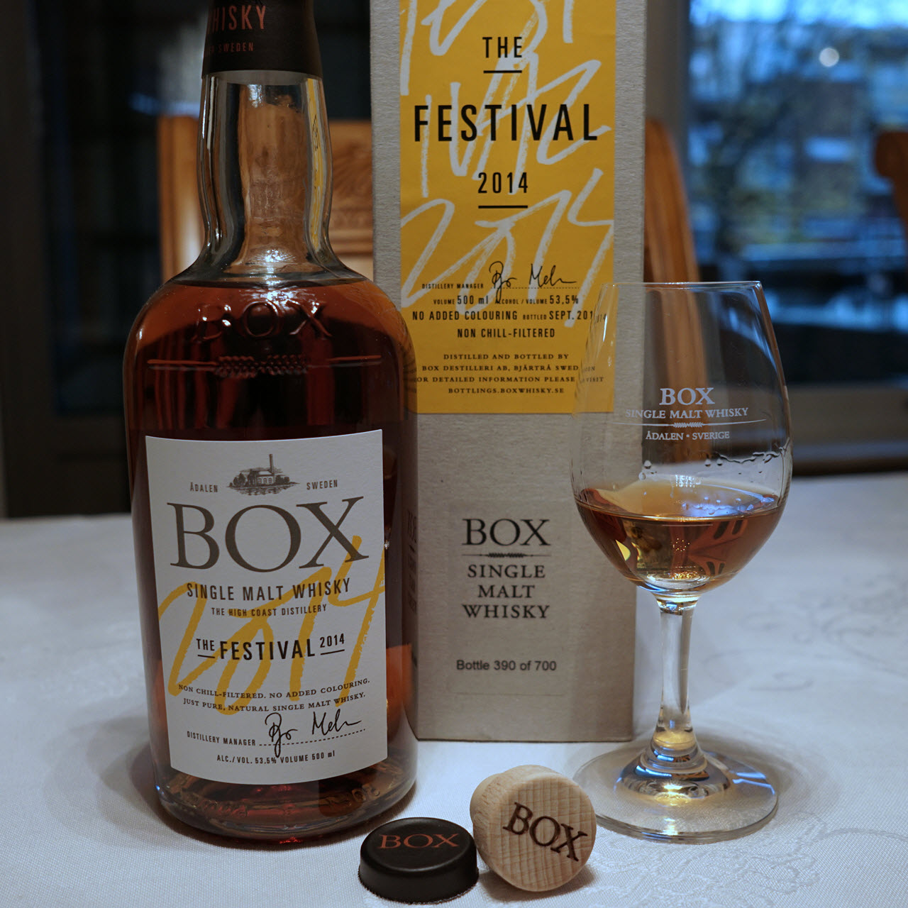 Nordic Whisky #17 - Box Whisky The Festival 2014