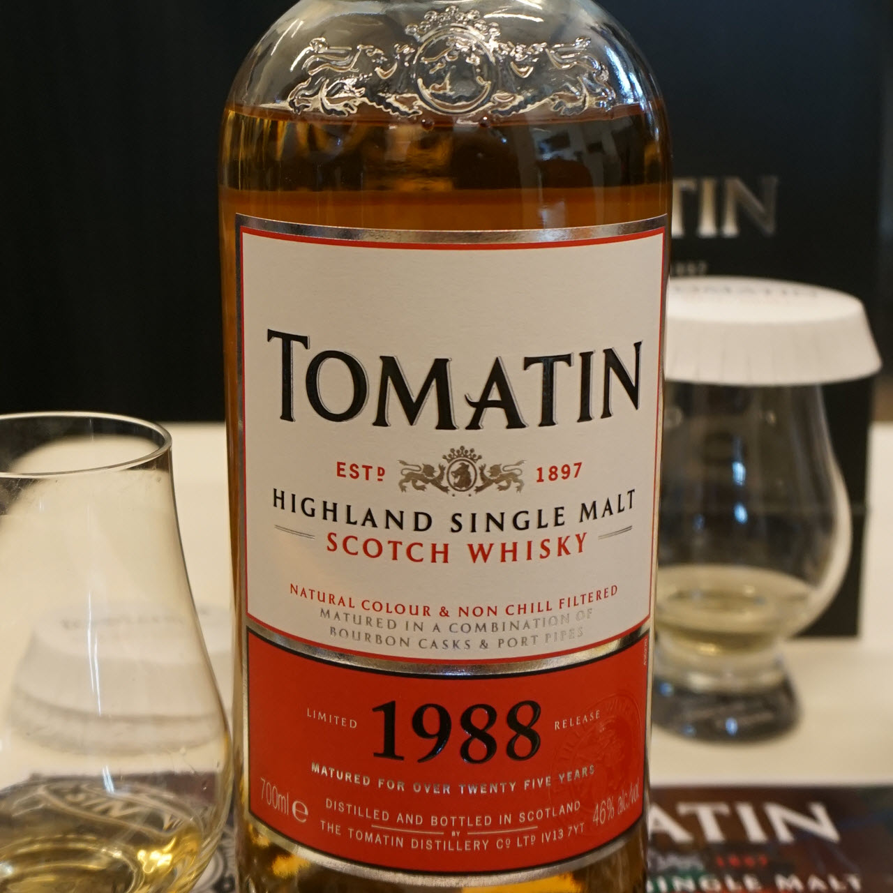 Tomatin 1988 25 YO Limited Release Batch 1