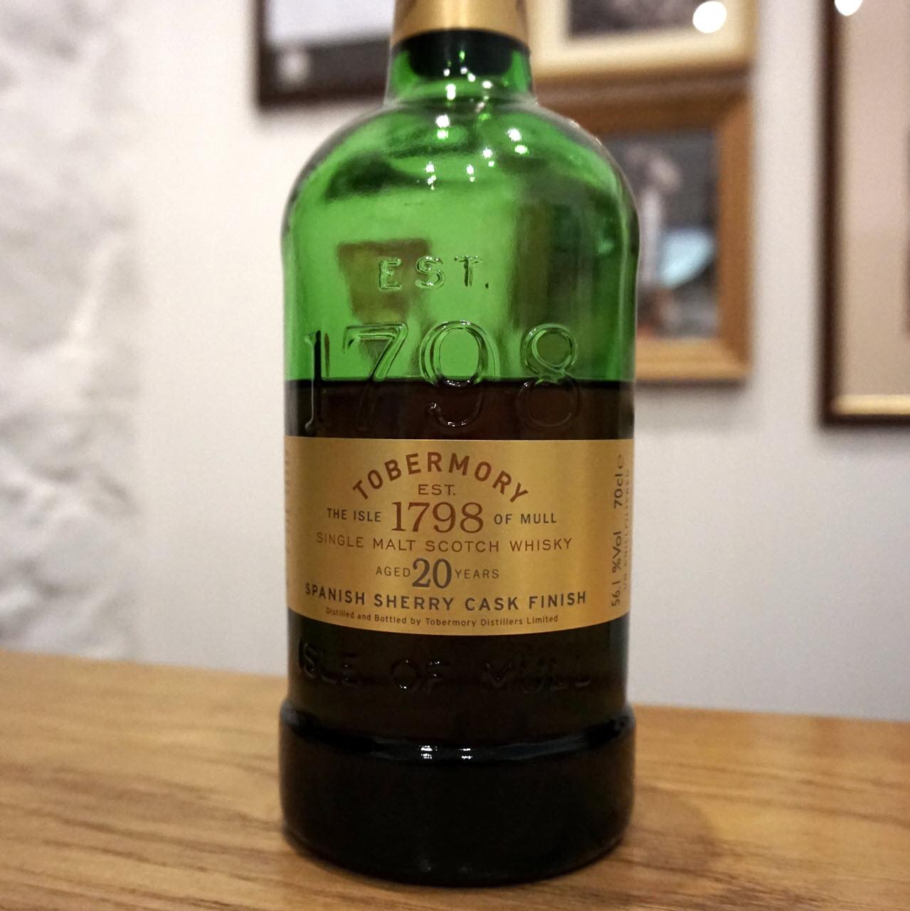 Tobermory 20 YO Spanish Sherry Cask Finish - Distillery Exclusive