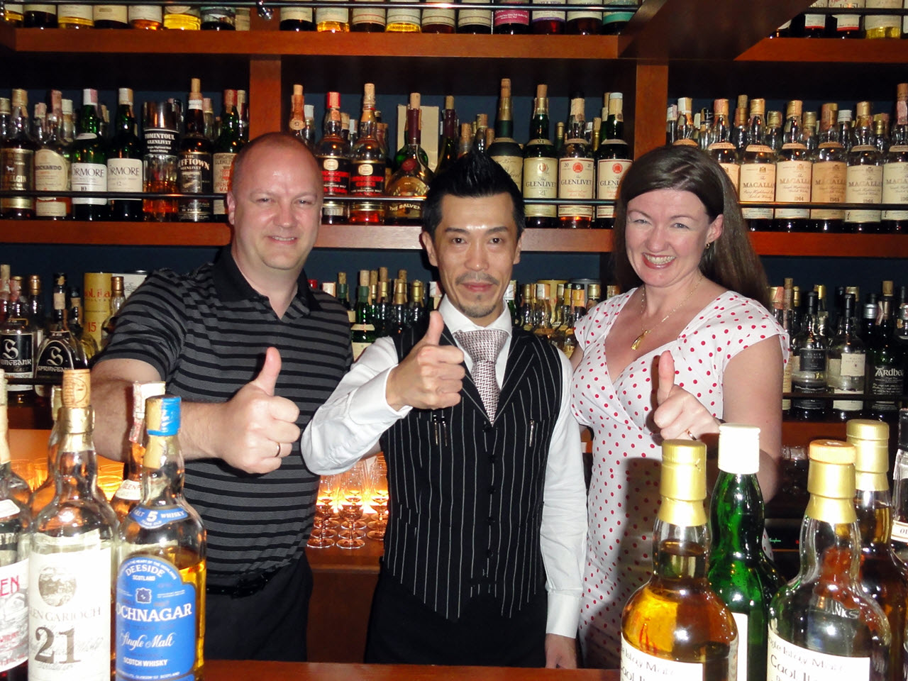 The Bow Bar, Sapporo - Junya and Whisky Saga