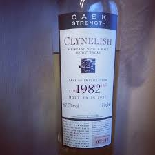 Clynelish 1982 15 YO Flora & Fauna cask strength