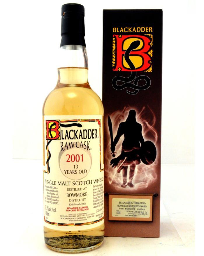 Bowmore 2001 13 YO Blackadder Raw Cask