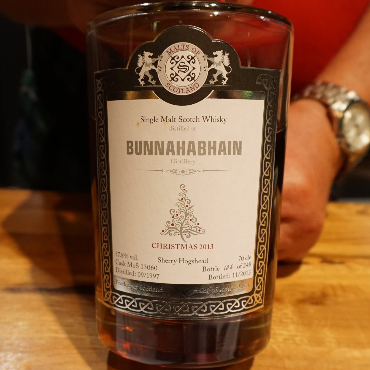 Bunnahabhain 1997 16 YO Christmas 2013