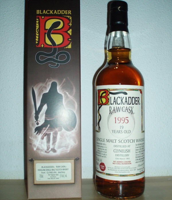 Clynelish 1995 19 YO Blackadder Raw Cask