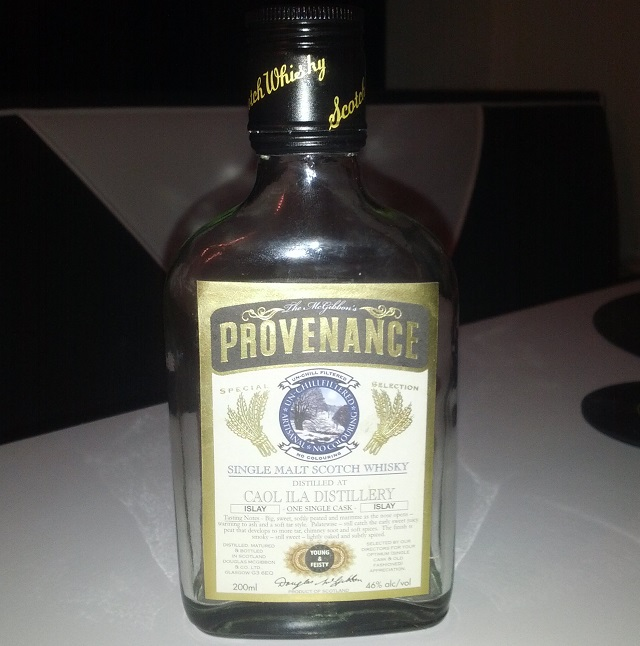Caol Ila Young & Feisty Provenance