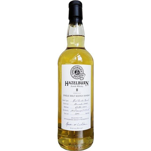Hazelburn 2002 11 YO Society Bottling