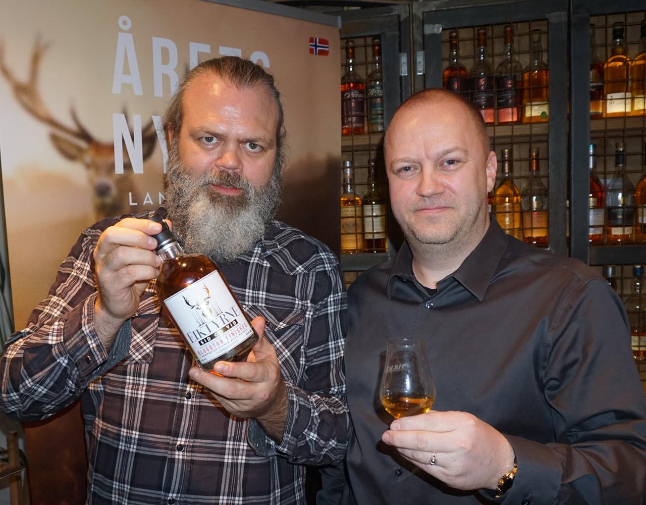 Bergen International Whisky & Beer 2015 - Eiktyrne launch