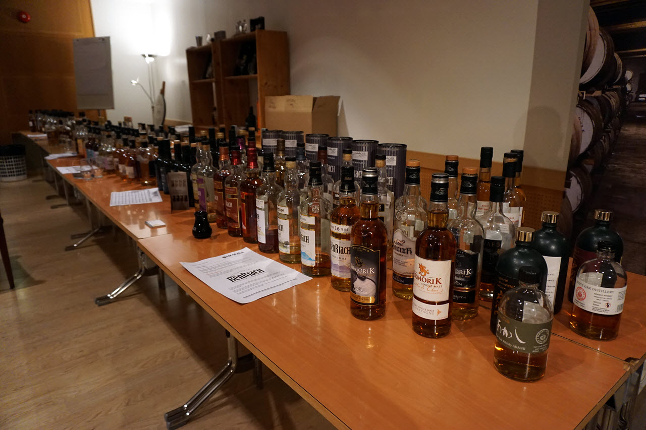 Bergen International Whisky & Beer 2015 - Daracha