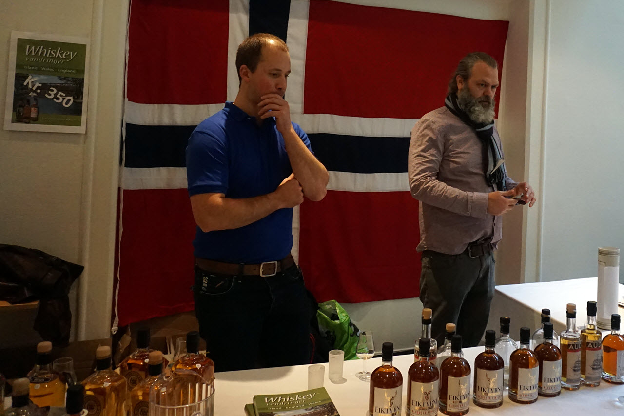 Bergen International Whisky & Beer 2015 - Det Norske Brenneri