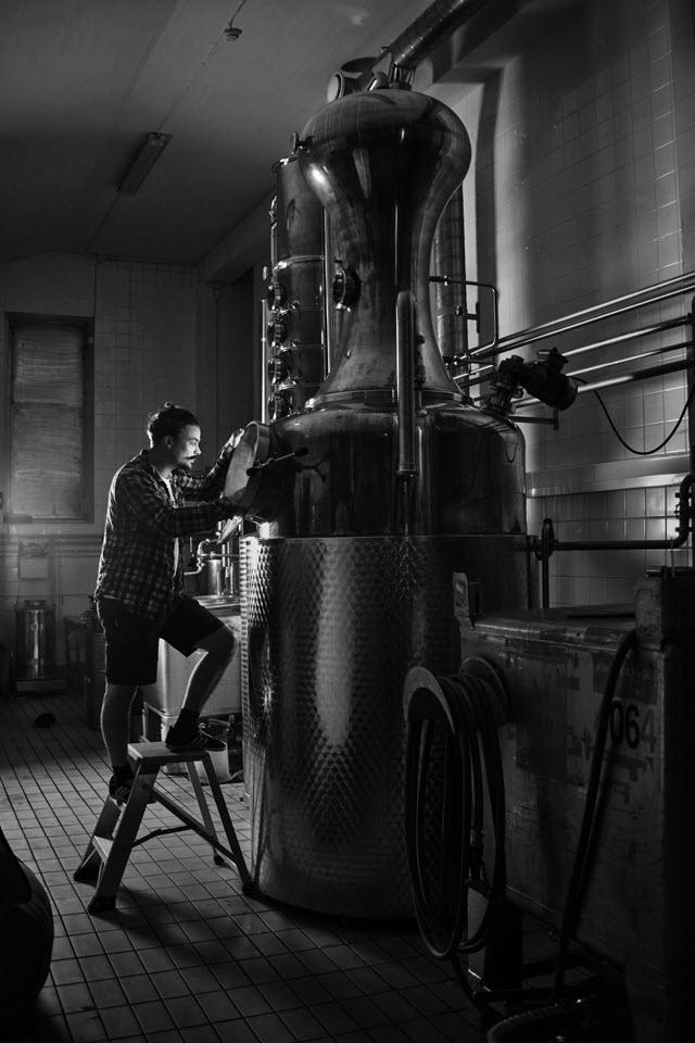 Kyrö Distillery - the still