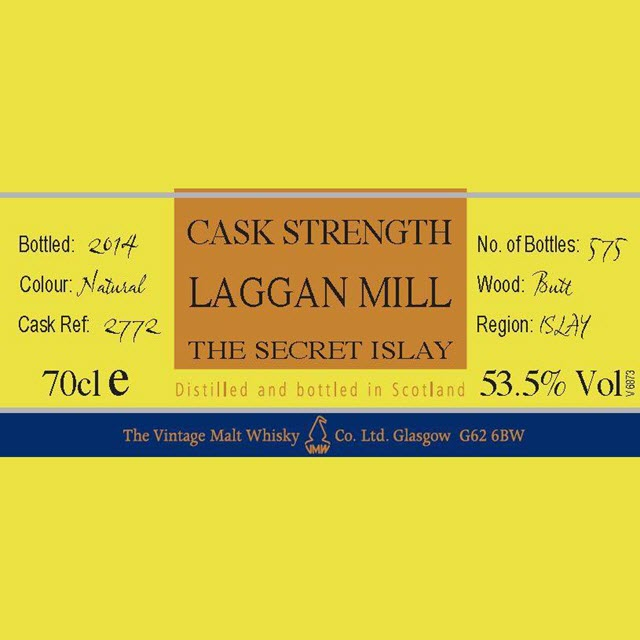 Laggan Mill  Cask #2772 Cooper's Choice