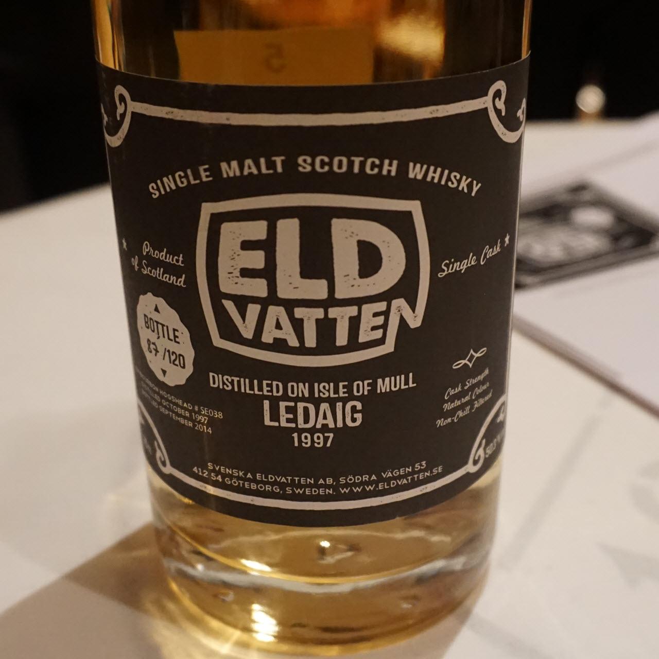 Ledaig 1997 16 YO Svenska Eldvatten