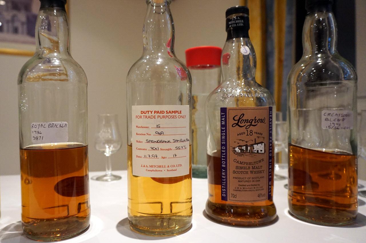 Bergen International Whisky & Beer Festival 2015 - bottles
