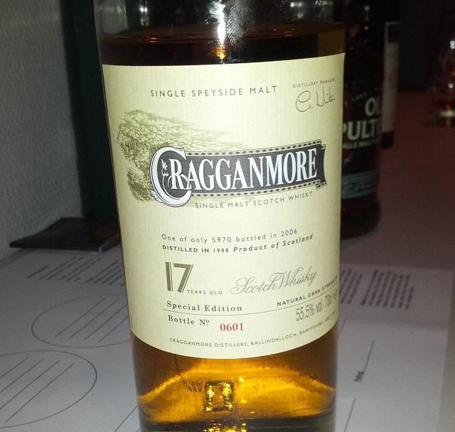 Cragganmore 1988 17 YO Special release