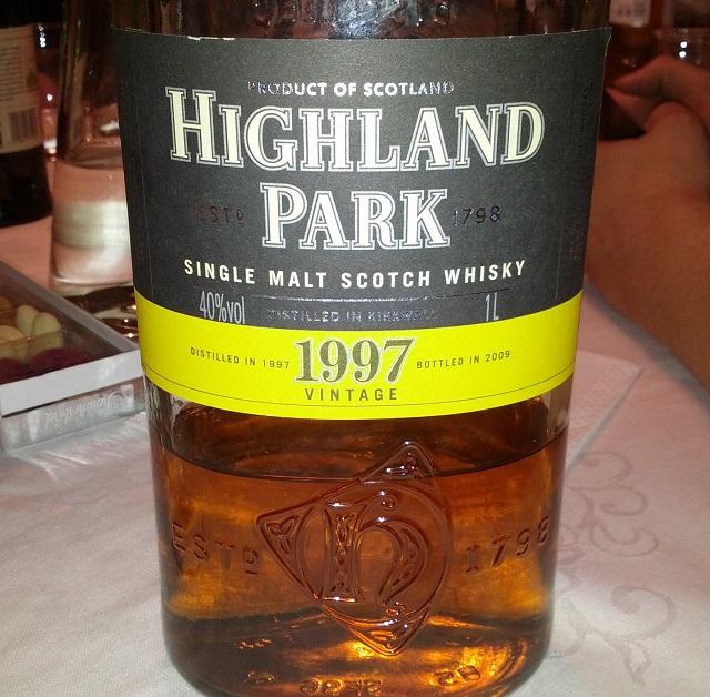Highland Park 1997 Vintage
